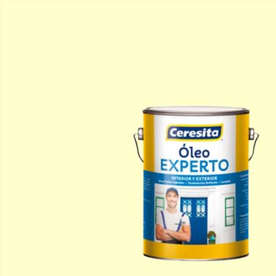 Oleo experto blanco hueso galón