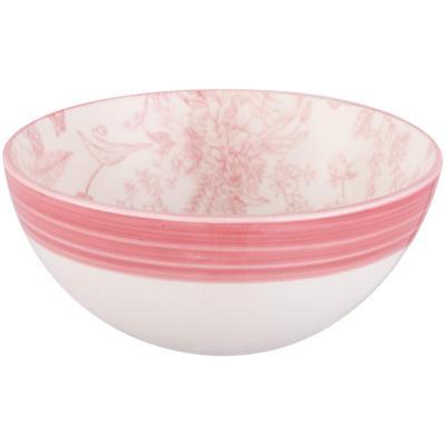 Bowl 16 cm rosado cerámica