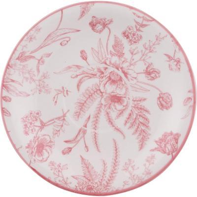 Platillo 15,5 cm redondo rosado