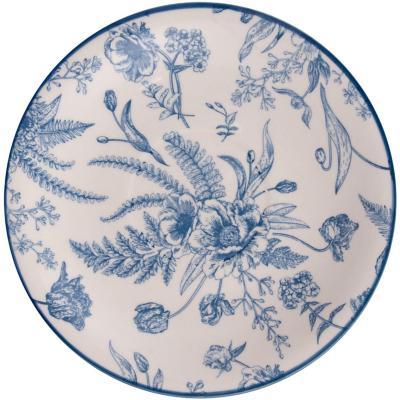 Platillo 15,5 cm redondo azul