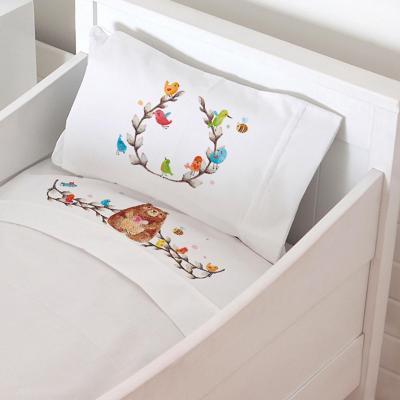 Juego de sábanas cuna 70x140 cm diseño oso