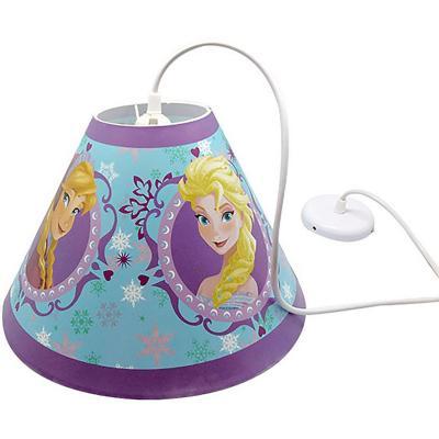 Lámpara colgar redonda Frozen