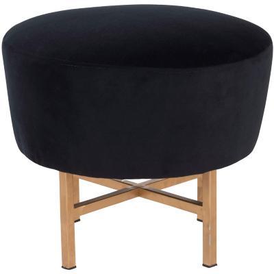 Pouf 50x50x43 cm negro