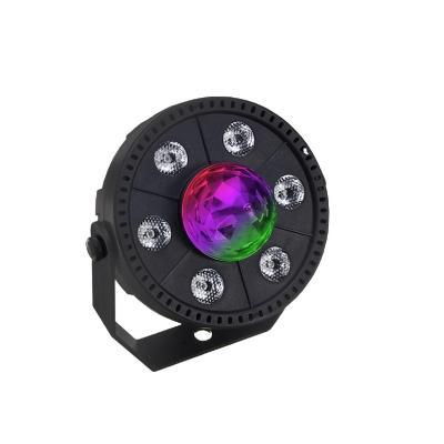 Mini luz disco 9 led rgb