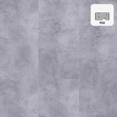Piso vinílico 5 mm gris 45,7x91,4 cm 2,51 m2