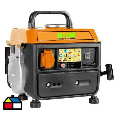 Generador eléctrico a gasolina 950W