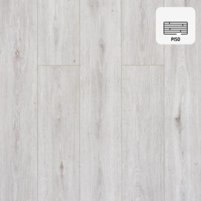 Piso vinílico 5 mm blanco 122x18 cm 2,2 m2