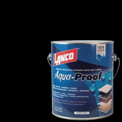 Membrana impermeable de aislamiento contra agua y grietas 1 galón