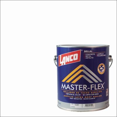 Sellador para techos master-flex 1 galón blanco