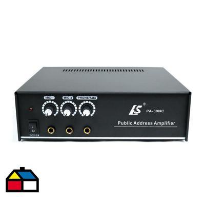 Amplificador monofónico 30w ls