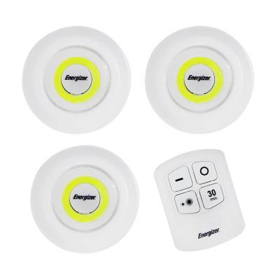 Set de 3 luces led con control remoto