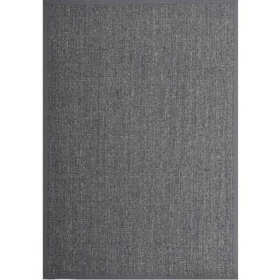 Alfombra sisal 160x230 cm plomo