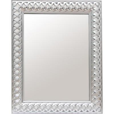 Espejo tramado silver 50x60 cm