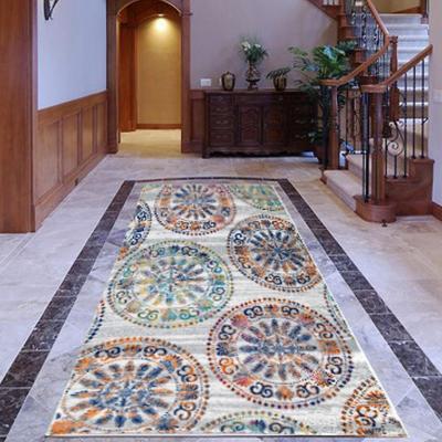 Alfombra pasillo elite 64x230 cm naranjo
