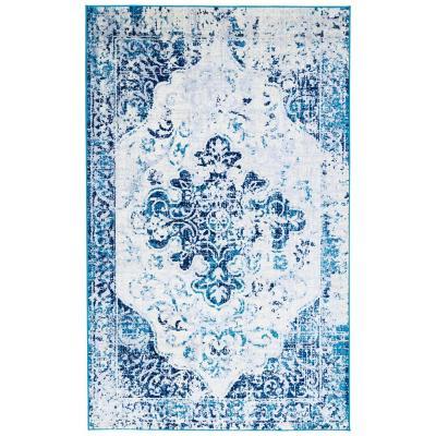 Alfombra elite 230x160 cm azul