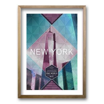 Cuadro 40x30 cm ilustración new york