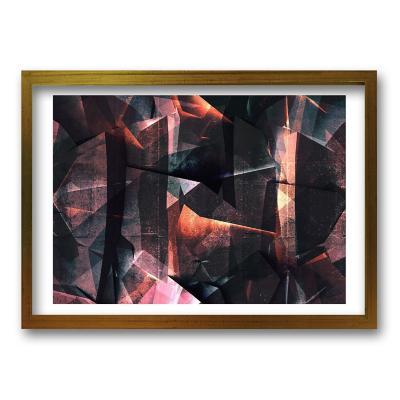 Cuadro 40x30 cm ilustración geo abstracta