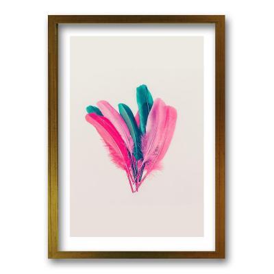Cuadro 40x30 cm ilustración plumarte