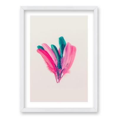 Cuadro 70x50 cm ilustración plumarte