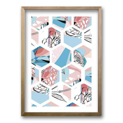Cuadro 50x35 cm ilustración colmena