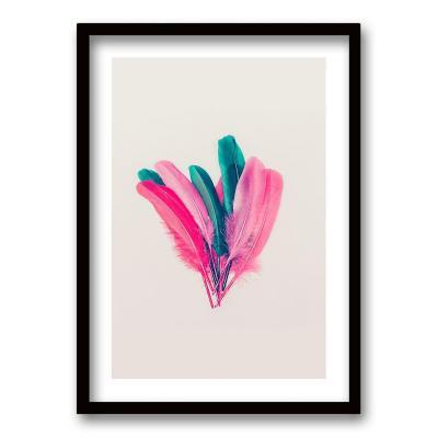 Cuadro 50x35 cm ilustración plumarte