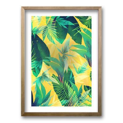 Cuadro 50x35 cm ilustración vegetación
