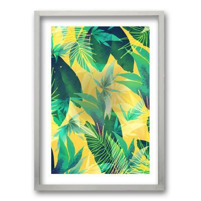Cuadro 70x50 cm ilustración vegetación