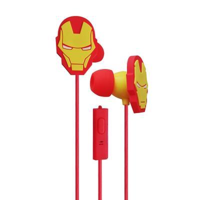 Audífono in ear iron man niño rojo