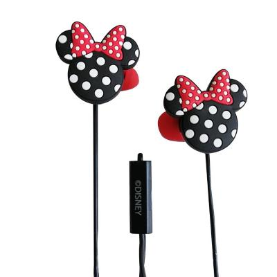 Audífono in ear minnie negro