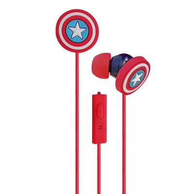 Audífono in ear capitán américa niño azul
