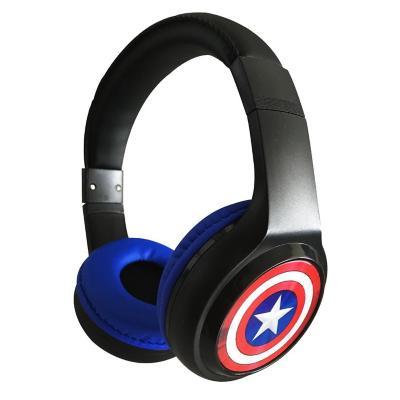 Audífono bluetooth cintillo capitán américa