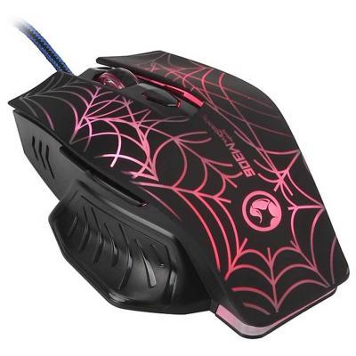 Mouse puntero gamer thunder devil negro