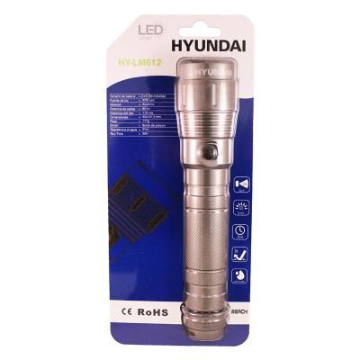 Linterna led manual de aluminio