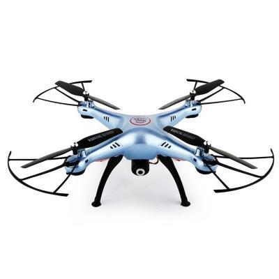 Dron syma con cámara hd fpv x5hw azul