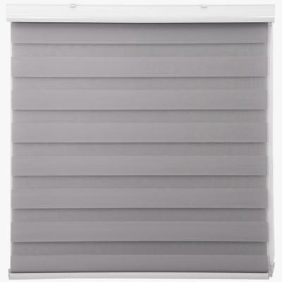 Cortina enrollable 100x100 cm gris claro
