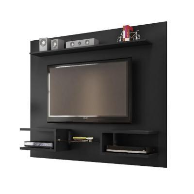 "Rack tv 55"" negro 136x164x30 cm"