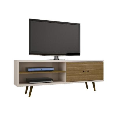 "Rack tv 70"" blanco 65x160x39 cm"