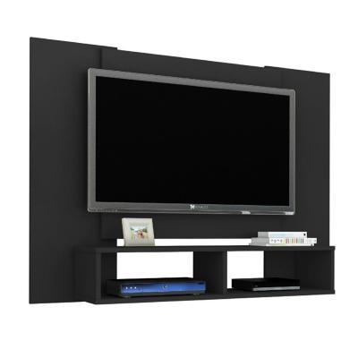 "Rack tv 49"" negro 90x120x28 cm"