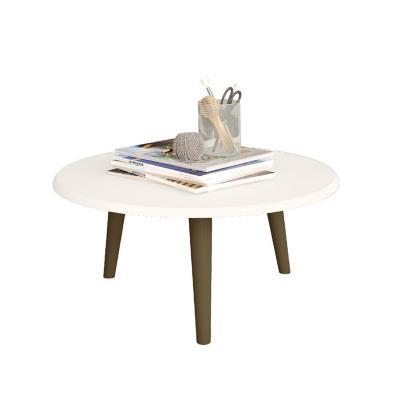Mesa de centro blanco 35x59x59 cm