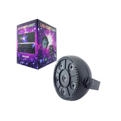 Luz disco 6 rgb ultra/led rítmico/automático