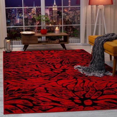 Alfombra siesta 160x230 cm rojo