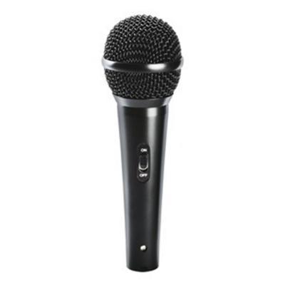 Micrófono vocal alámbrico xlr-plug 6,3