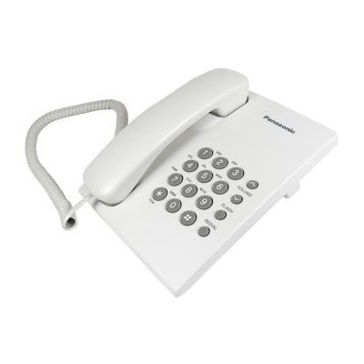 Teléfono de sobremesa blanco