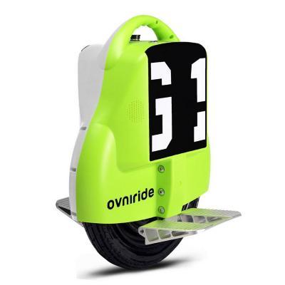Monociclo eléctrico 18kph bicolor verde blanco