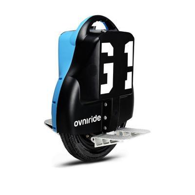 Monociclo eléctrico 18kph bicolor negro azul