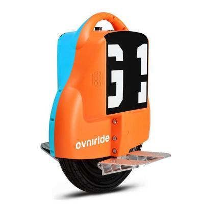 Monociclo eléctrico 18kph bicolor azul/naranja