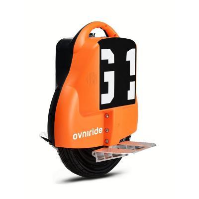 Monociclo eléctrico 18kph bicolor negro naranja