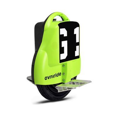 Monociclo eléctrico 18kph bicolor negro verde