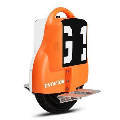 Monociclo eléctrico 18kph bicolor naranja blanco