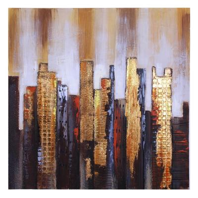 Cuadro decorativo mural new york 80x80 cm